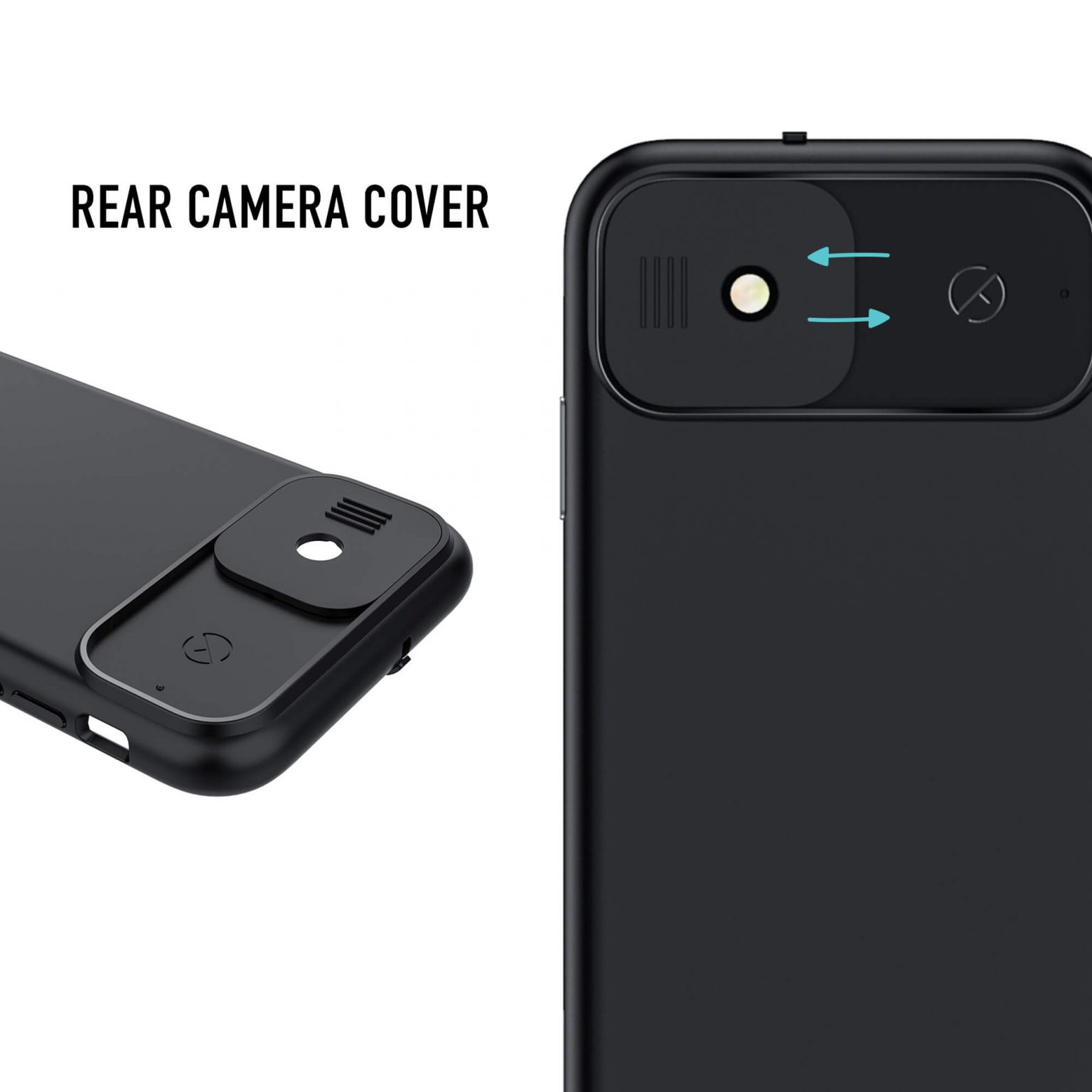 iPhone 11 Privacy Case with Camera Covers | Spy-Fy