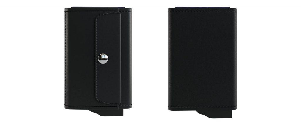Custom credit card holder wallet coin pocket