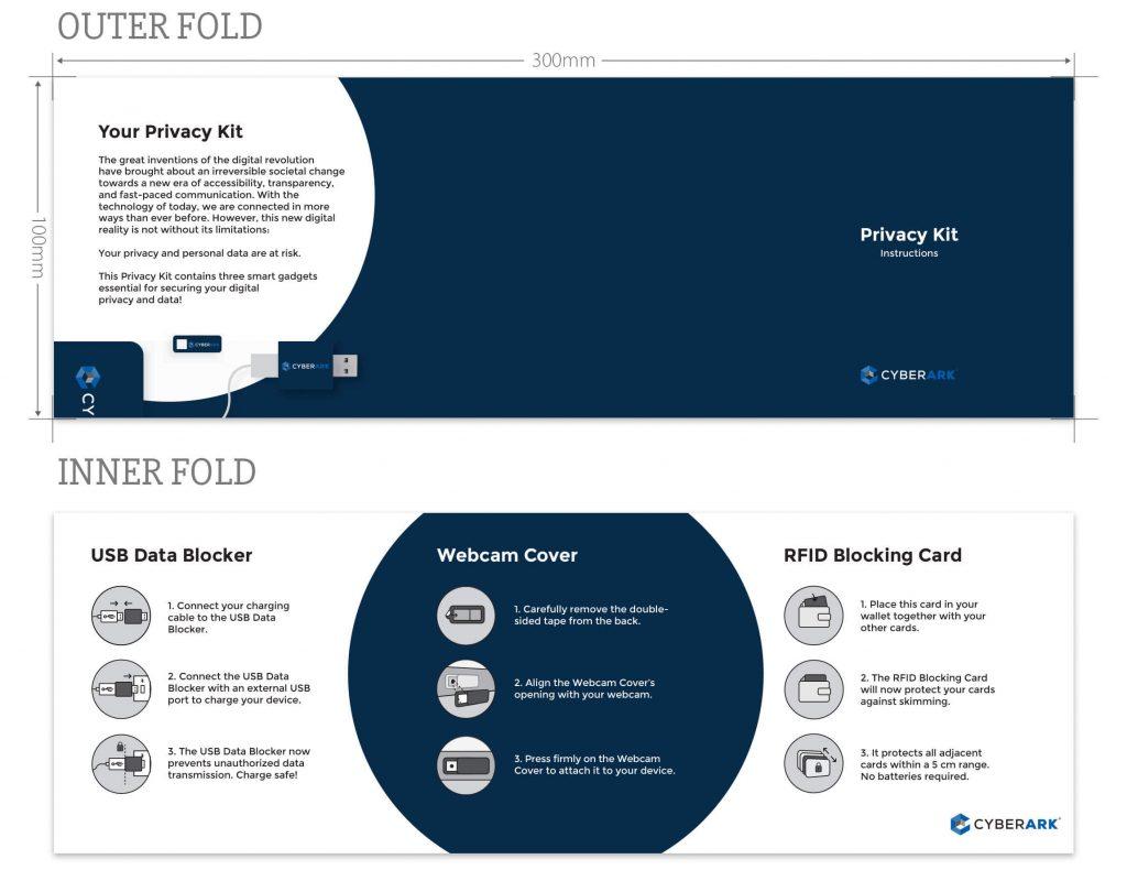 custom privacy kit brochure